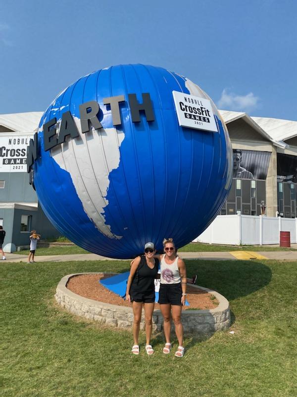 CrossFit Games 2021 Olivia and Hannah